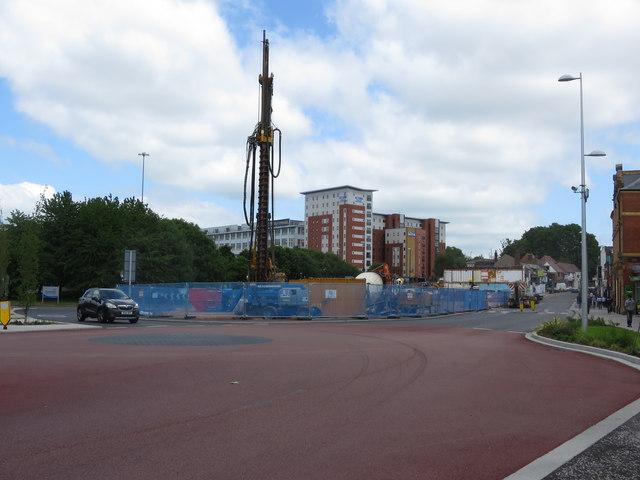 Demolition on Far Gosford Street