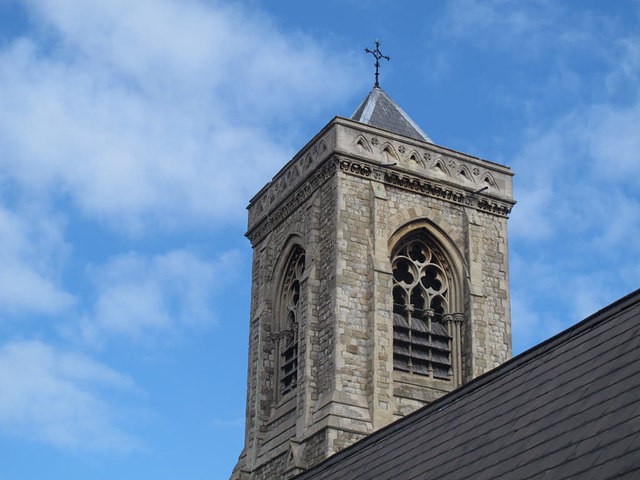 Holy Trinity church, Upper Tooting: tower
