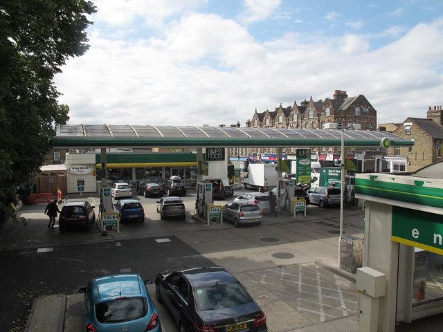 BP garage, Trinity Road, Upper Tooting