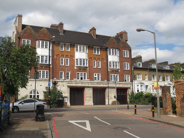 Fire station, Trinity Road, Upper Tooting