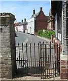 TM1473 : Houses in Church Street, Eye by Evelyn Simak