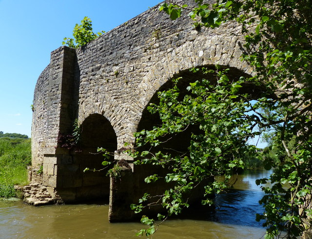 Northbrook Bridge crossing the River Cherwell