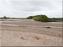 NU2410 : Low tide at Alnmouth, Northumberland by Derek Voller