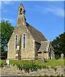 SU2991 : Church of St John, Fernham, Oxfordshire by Oswald Bertram