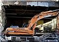 J3373 : Demolition, former College of Business Studies, Belfast - June 2015(7) by Albert Bridge