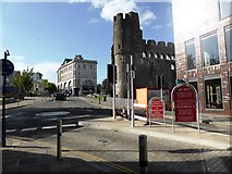 SS6593 : Castle Square, Swansea by David Gearing