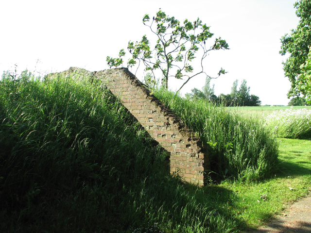 Entrance into an air raid shelter