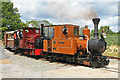 SK2405 : Statfold Barn Railway - repatriated engines by Chris Allen