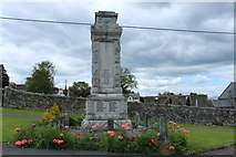 NX4355 : War Memorial, Wigtown by Billy McCrorie