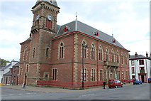NX4355 : Wigtown County Buildings by Billy McCrorie