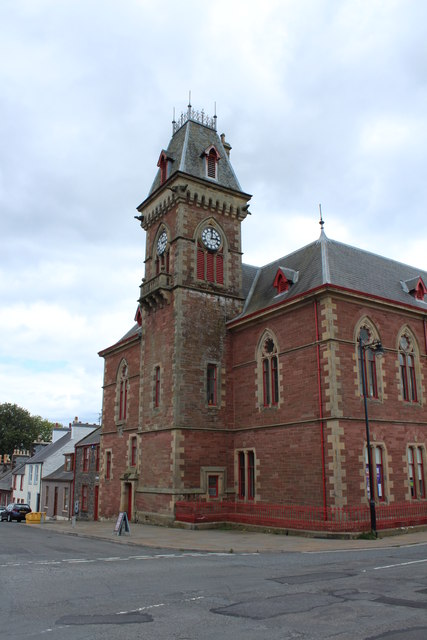Clock Tower, Wigtown County Building