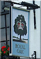 SE7983 : Sign for the Royal Oak, Pickering by JThomas