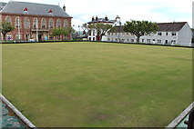 NX4355 : Wigtown Bowling Green by Billy McCrorie