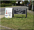 TG2602 : The Footpath sign by Adrian Cable