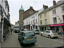 SO2914 : Cross Street, Abergavenny by Hugh Venables