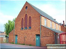 TF0920 : Behind the Baptist Church at Bourne, Lincolnshire by Rex Needle