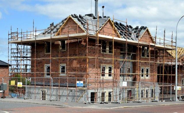 Holywood Road development site, Belfast - June 2015(1)