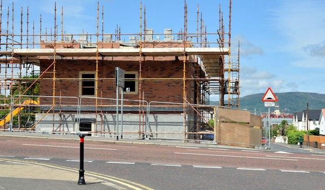 Holywood Road development site, Belfast - June 2015(2)