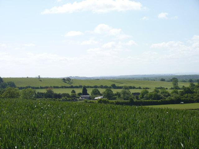 Looking towards Woolmere Green