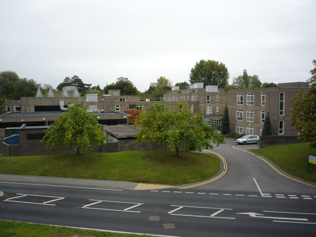 Langwith College from above