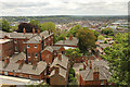 SK9771 : Lincoln roofscape by Richard Croft