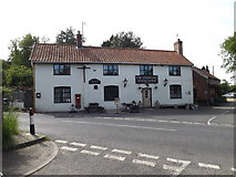 TM3464 : The Sweffling White Horse Public House by Adrian Cable