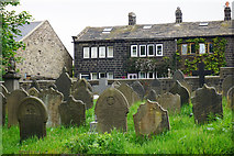 SD9828 : Churchyard of St Thomas, Heptonstall by Bill Boaden