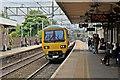 SJ8581 : Northern Rail Class 323, 323223, platform 3, Wilmslow railway station by El Pollock