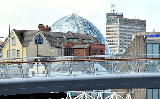 New Lagan weir footbridge, Belfast - June 2015(3)