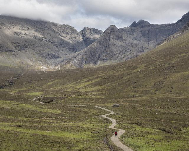 Path into Coire na Creiche