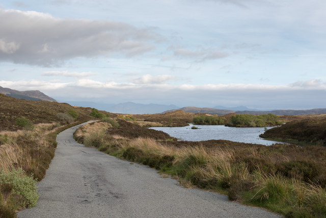 The old road to Armadale