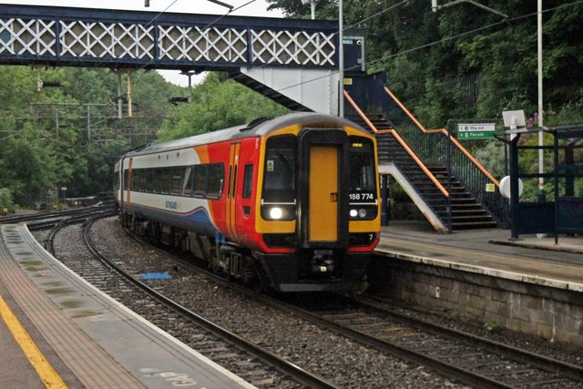 East Midlands Trains Class 158, 158774, Kidsgrove railway station