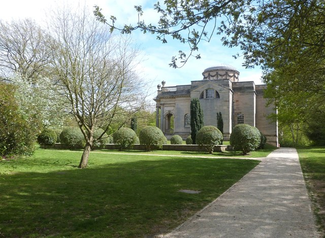 Palladian Chapel in the grounds of Gibside Hall, Gateshead