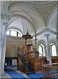 NZ1758 : Interior of the Palladian style Chapel at Gibside, Gateshead by Derek Voller