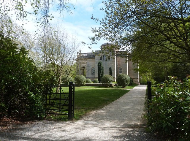 The Palladian style chapel , Gibside Hall estate, Gateshead