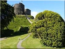 SX3384 : Launceston Castle by don cload