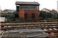 SJ2929 : Oswestry signalbox by Jaggery