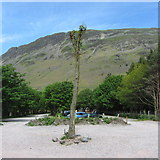 NY1807 : National Trust Car Park at Wasdale Head by Gareth James