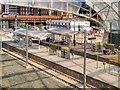 SJ8499 : New Metrolink Stop at Victoria Station (June 2015) by David Dixon