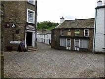 SD7087 : Dent village centre by Philip Platt