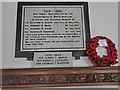 TF6324 : North Wootton War Memorial by Adrian S Pye