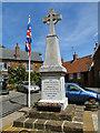 TF6834 : Snettisham War Memorial by Adrian S Pye
