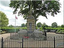 TF6830 : Dersingham War Memorial by Adrian S Pye