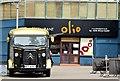 """J3373 : Citroen """"H"""" refreshment van, Belfast (June 2015) by Albert Bridge"""