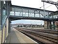 TL4657 : Footbridge - Cambridge Station by Paul Gillett