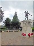 TL4557 : War Memorial Cambridge by Paul Gillett