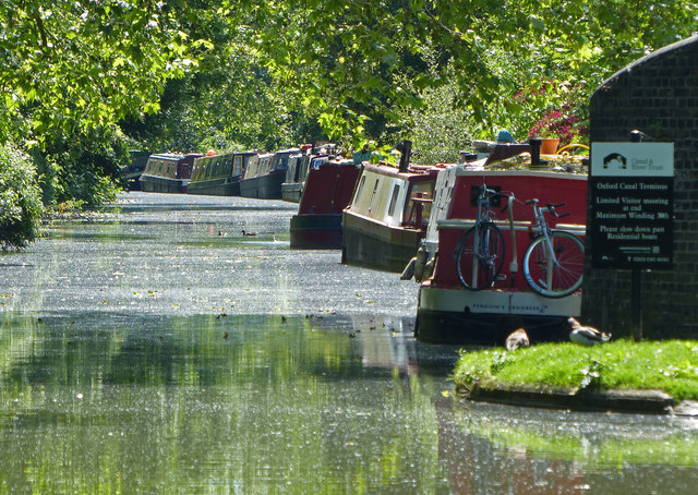 The Oxford Canal Terminus