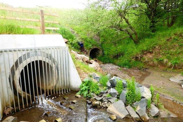 Old and new culverts