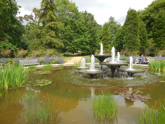 Fountains in Botanic Gardens
