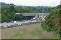 SU9765 : Longcross Bridge, The M3 by Alan Hunt